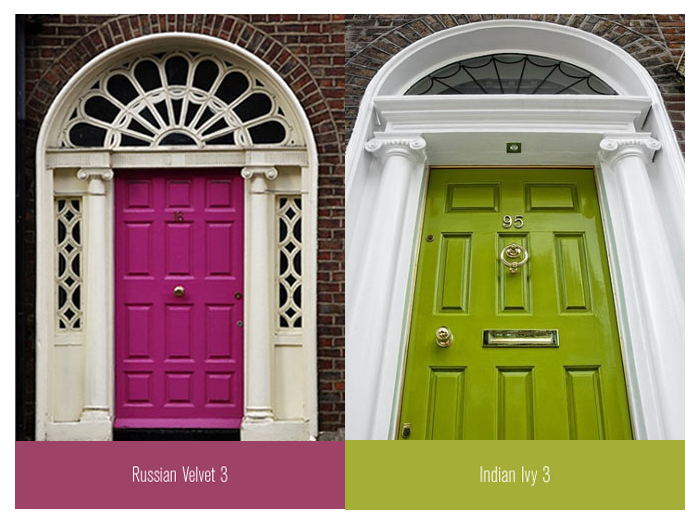 Colourful Front Doors For Your Inspiration
