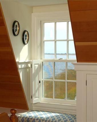 sash windows white