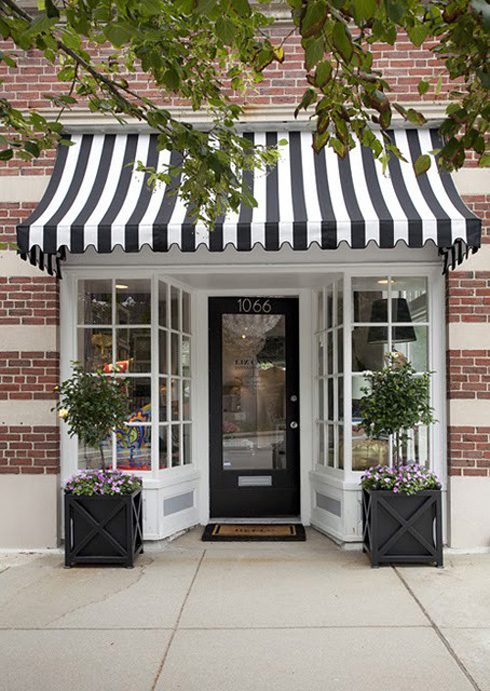 shop fronts stripes