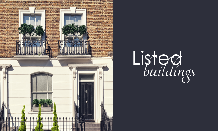What is a listed building?